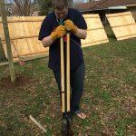 Noah doing some digging
